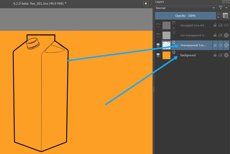 How To Add Color Quickly In Krita Using Colorize Mask Part