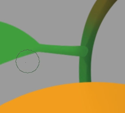 Leafstalk and twig colors are now more seamless